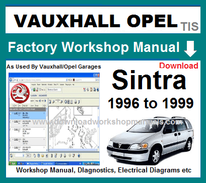 Vauxhall Sintra Workshop Repair Manual Download